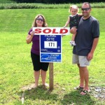 Happy homebuyers for new homes in Dover DE