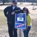 Sold sign on new homes by Chetty Builders
