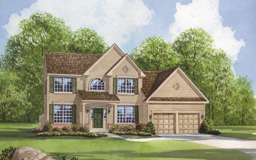The Alexander Classic plan from Chetty new home builders Chester County PA