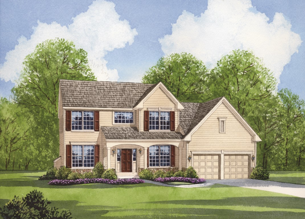 The Alexander plan for new homes Parkesburg PA