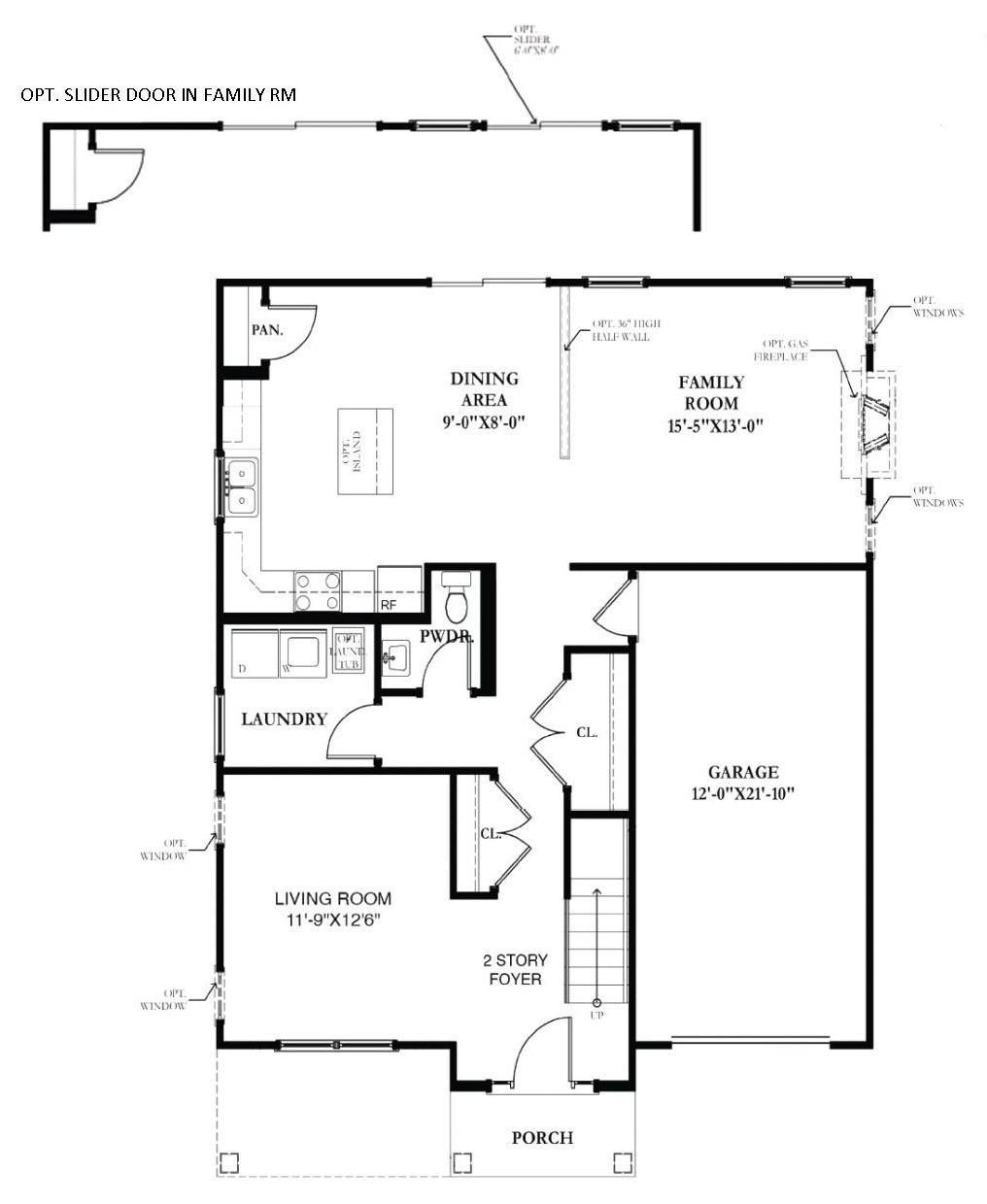 Dover home builders Chetty Builders Claremont plan