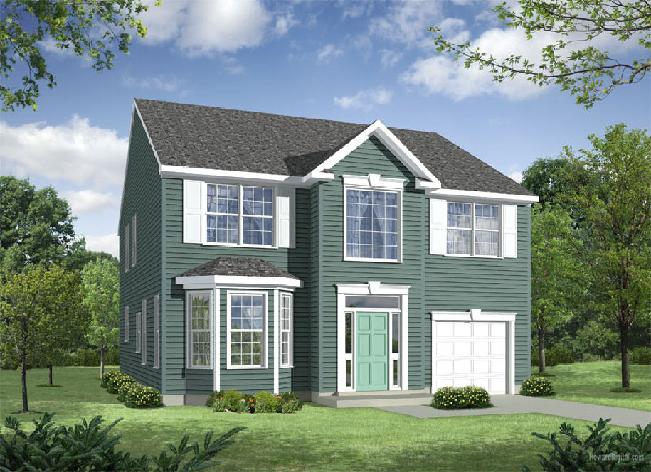 The Claremont - New homes in Delaware from Chetty Builders.
