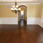 Formal dining room in new construction homes in Delaware by Chetty Builders