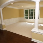 Open plan in new homes in Chester County PA by Chetty Builders.