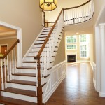 Staircase by custom home builders in PA Chetty Builders