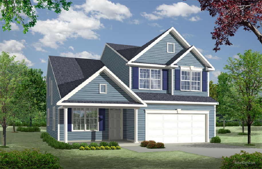 The Gavin plan for new construction homes from Chetty Builders.