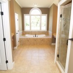 Bathroom in homes for sale in Delaware by CHetty Builders.