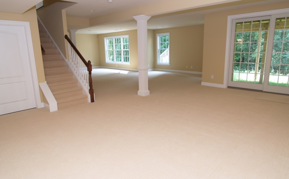 walkout basement new homes in chester county pa chetty builders