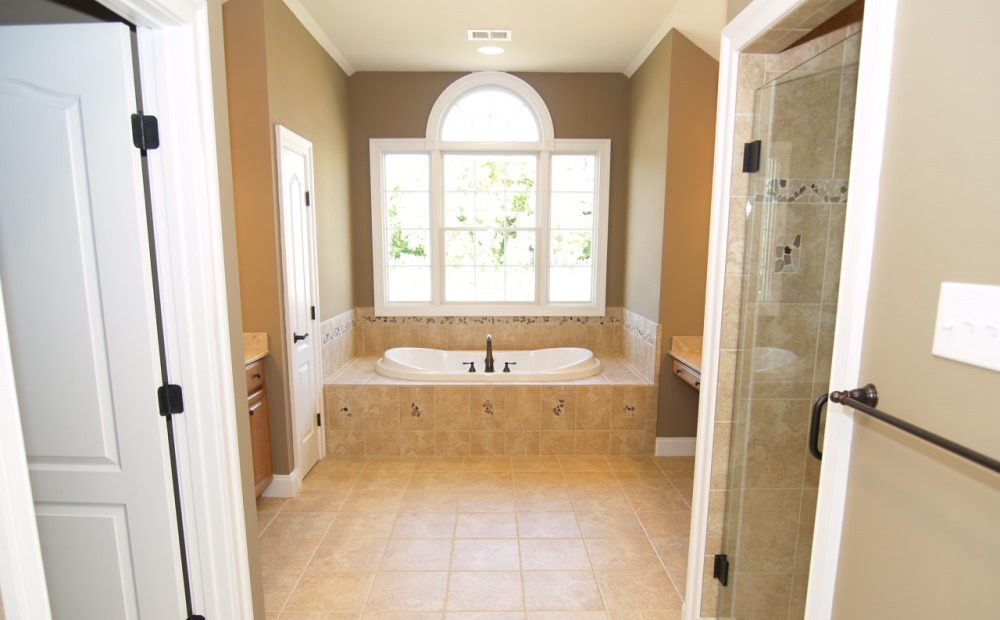 master bath new construction homes chester county pa chetty builders