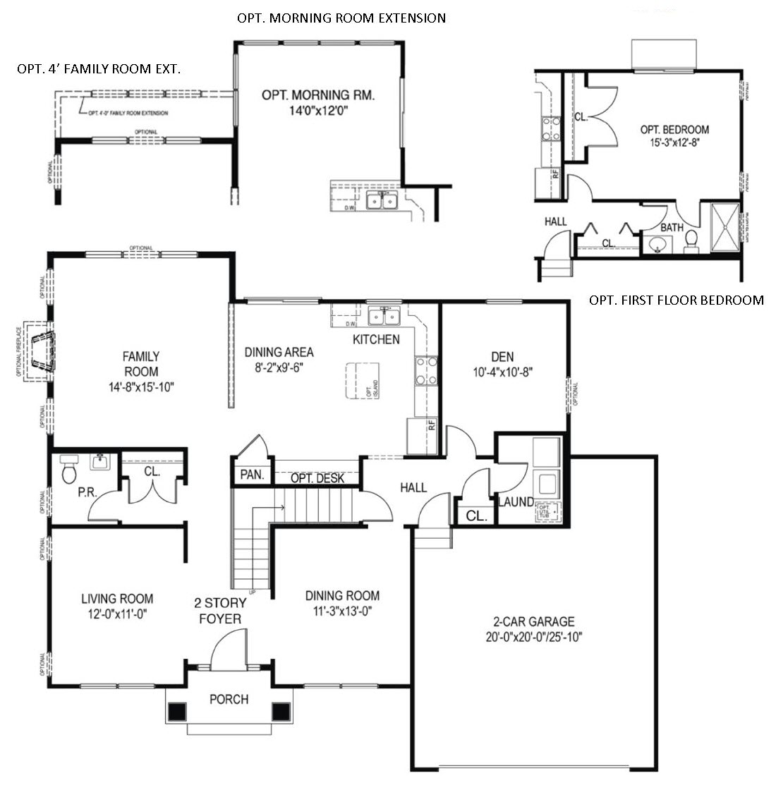 The Washington plan for new homes Parkesburg PA from Chetty Builders