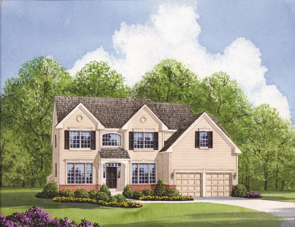 Washington Country is one of the new homes near West Chester PA by Chetty Builders.