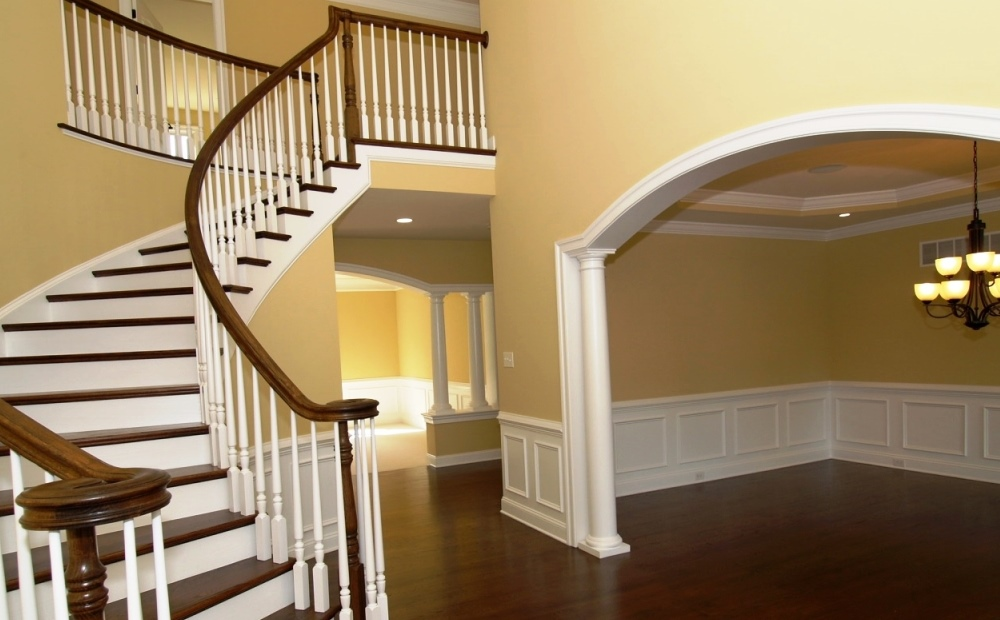 staircase in new homes for sale in chester county pa