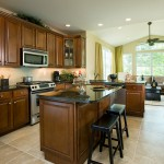 Typical kitchen by Chetty home builders