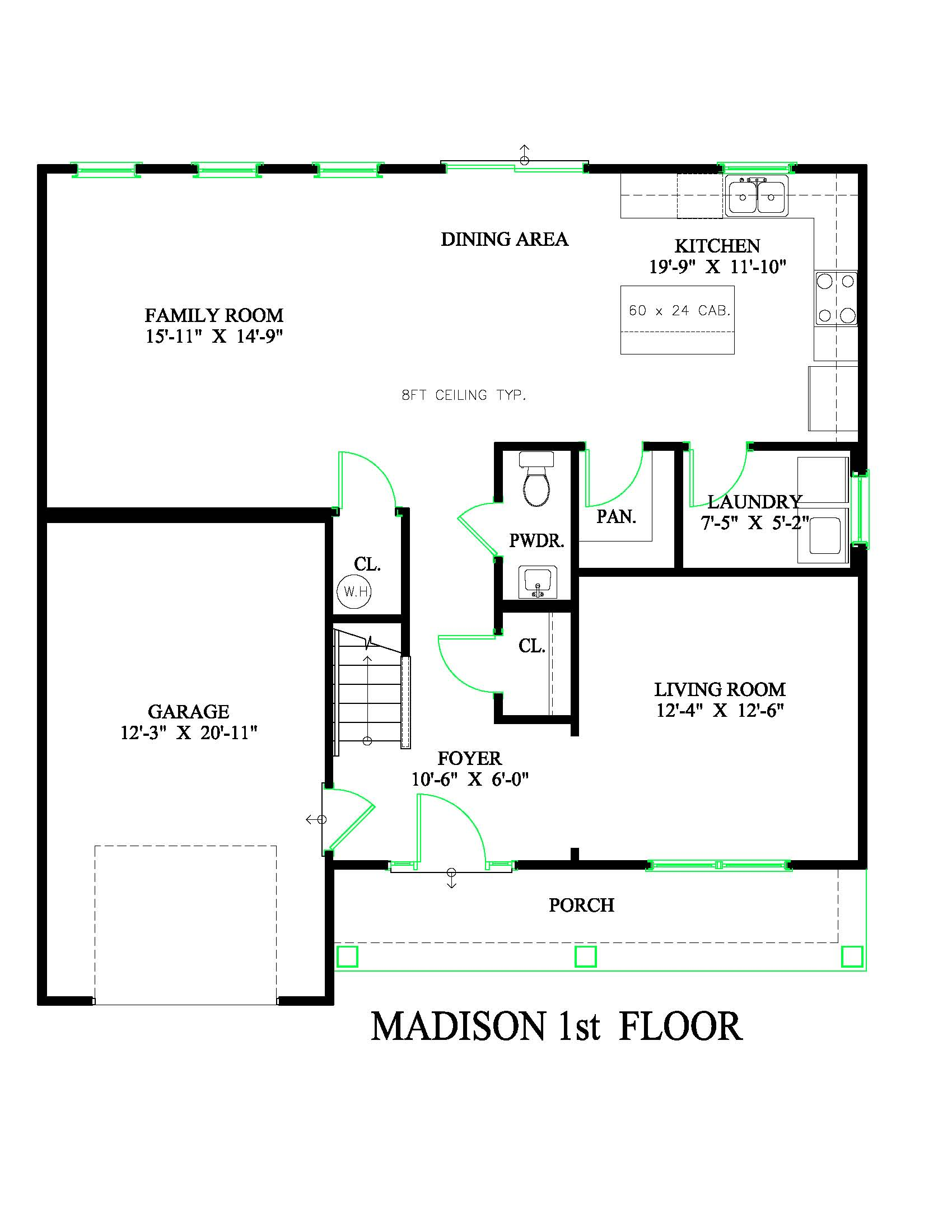 madison plan new homes wyoming de chetty builders